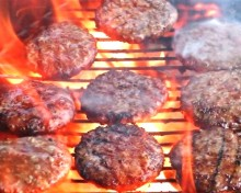 We Bring the Grill to YOU    Enjoy our Hot Off the Flames Hamburgers, Hot Dogs & Grilled Chicken