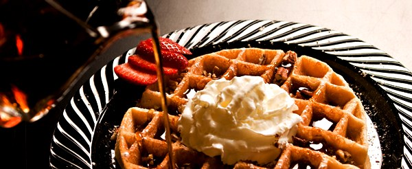 wedding waffle bar catering