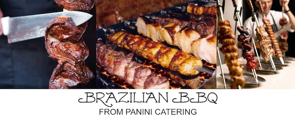 new brazilian bbq from panini catering